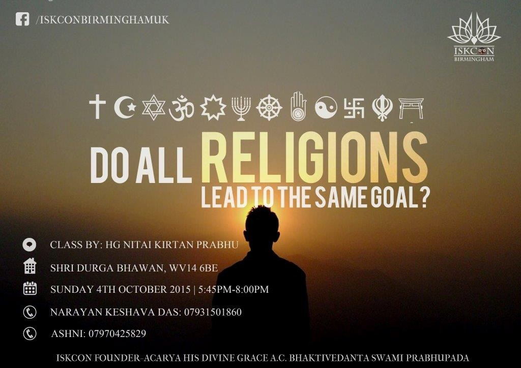 Durga Bhawan- Do all religions lead to the same goal