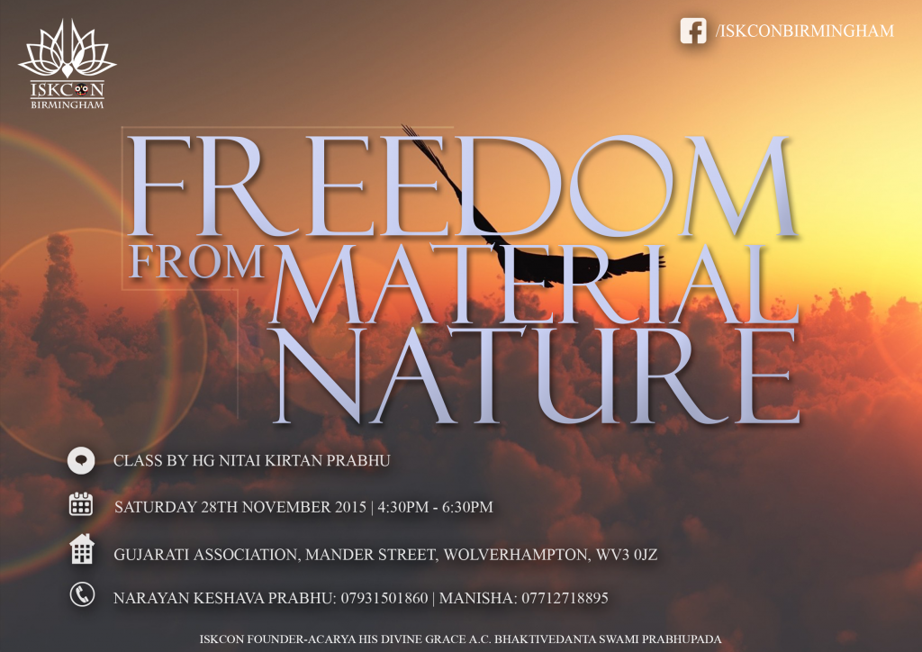 GA - Freedom from Material Nature