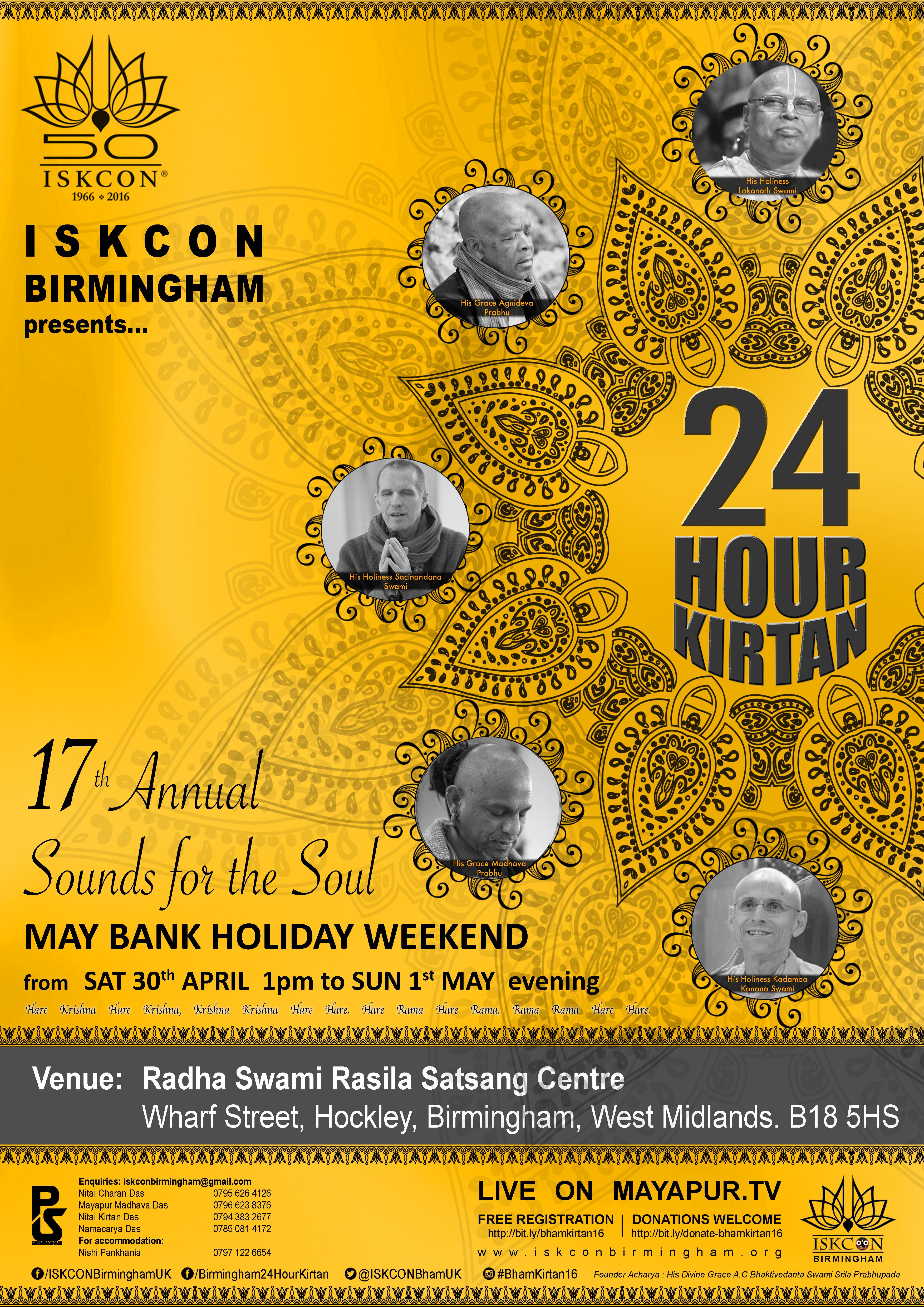24 Hour Kirtan