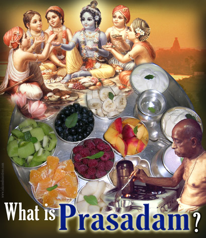 How to Offer Food to Krishna -
