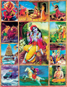 Krishna Incarnations